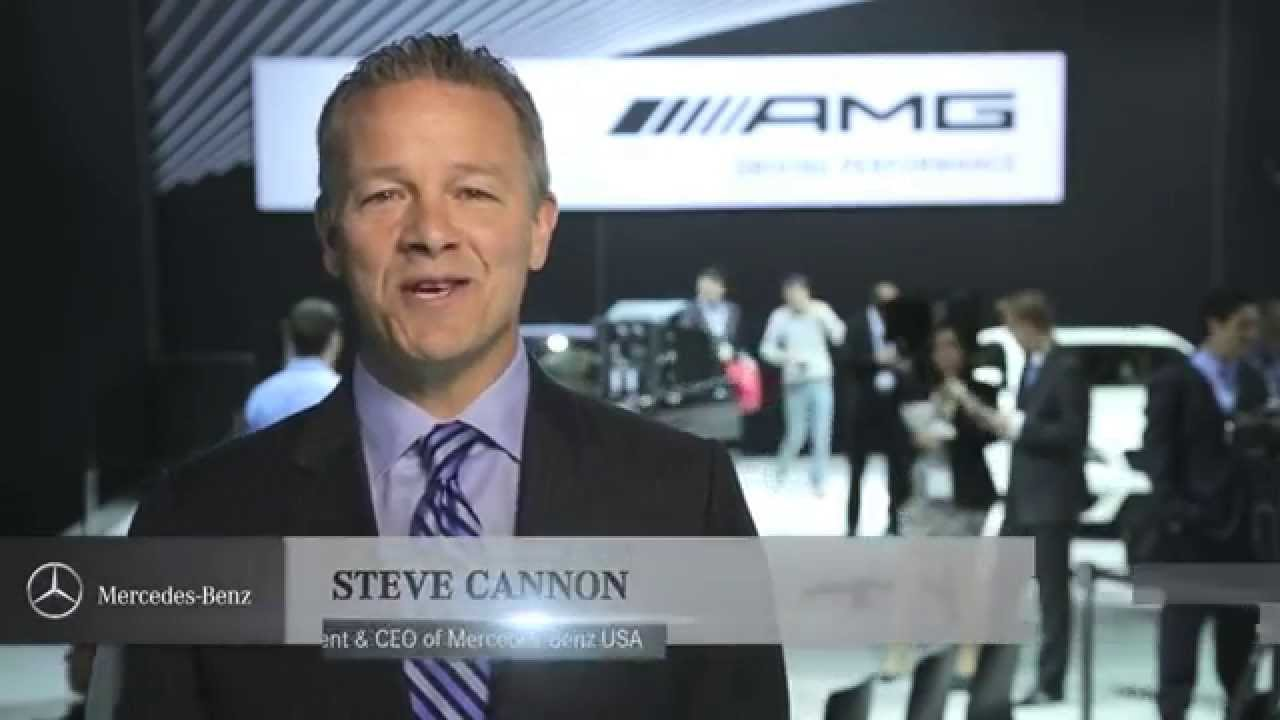 mercedes benz usa ceo steve cannon address at nyias youtube. Black Bedroom Furniture Sets. Home Design Ideas