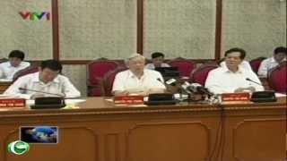 Ông Lê Thanh Hải dự buổi họp về tình hình KT-XH của Bộ Chính trị