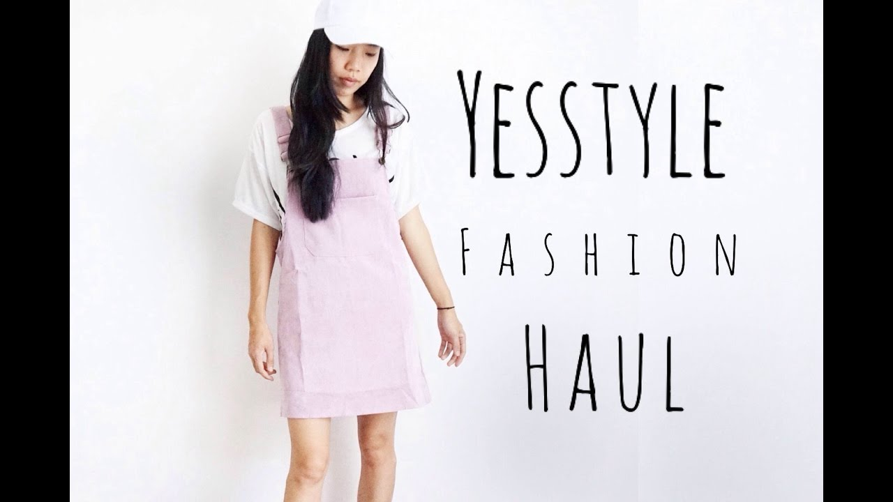 YESSTYLE UNBOXING And TRY ON HAUL Korean Fashion