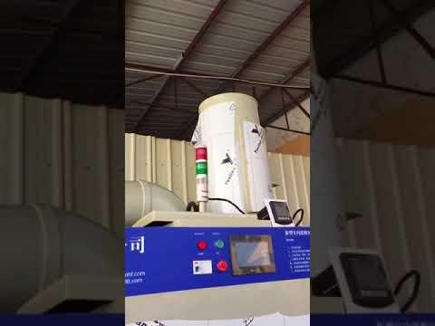 Jewelry acid polishing machine and acid gas treatment machine