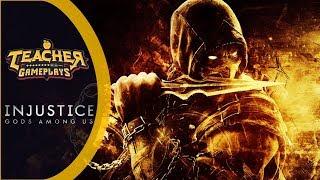 SCORPION, O MELHOR NINJA DO JOGO   Injustice: Gods Among Us   PC Gameplay