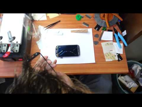 How to us UV Glue and UV Lamp Step by Step Instruction Samsung Galaxy S3