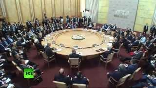 Встреча лидеров БРИКС с главами приглашенных государств