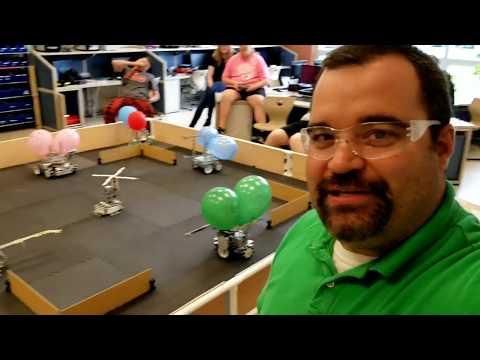 Mario Kart Battle Mode Tetrix BattleBots LaBrae High School Robotics Class