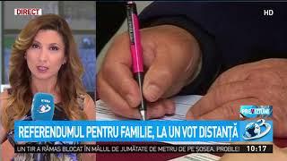 Referendumul pentru familie, la un vot distanţă