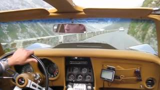 Corvette C3 Stingray Stelvio Pass Stilfser Joch V8 Sound