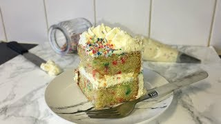 How To Make a Funfetti Cake