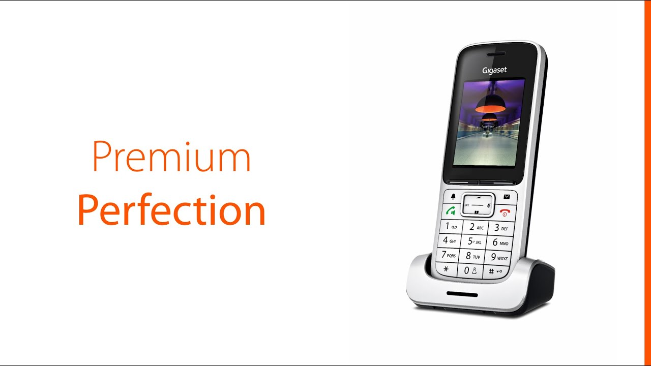 Home communications communications communication by telephone - The New Gigaset Sl450 Cordless Phone The Perfect Phone For Every Home Youtube