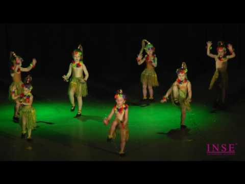 """Детская хореография 3-4 года, танец """"Чунга Чанга"""""""