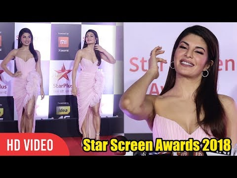 Jacqueline Fernandez at Star Screen Awards 2018