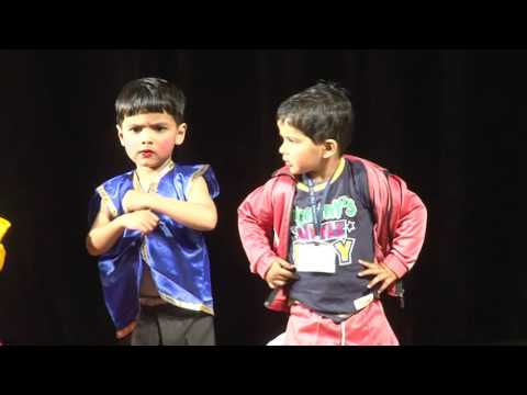 Itti Si Hasi Itti Si Khushi Itta Sa Tukda Chand Ka By Saplings Play School's Kids