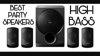 Sony SA-D100 4.1 Multimedia Speakers with Bluetooth | Unboxing+Review