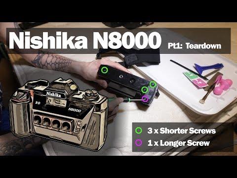 NISHIKA N8000 3D Gif Film Camera Easy Teardown + Repair