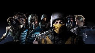 MORTAL KOMBAT X: Рентген атаки 20ти персонажей MK (X-REY)