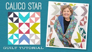 Make a Calico Star Quilt with Jenny Doan of Missouri Star (Video Tutorial)