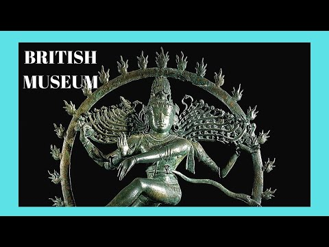 BRITISH MUSEUM: The 'INDIA' exhibit and PRICELESS TREASURES