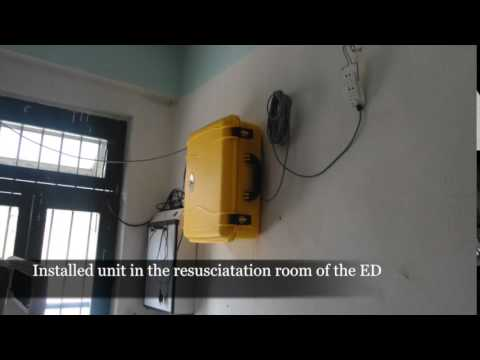 Installation of Solar Suitcase in Nepal