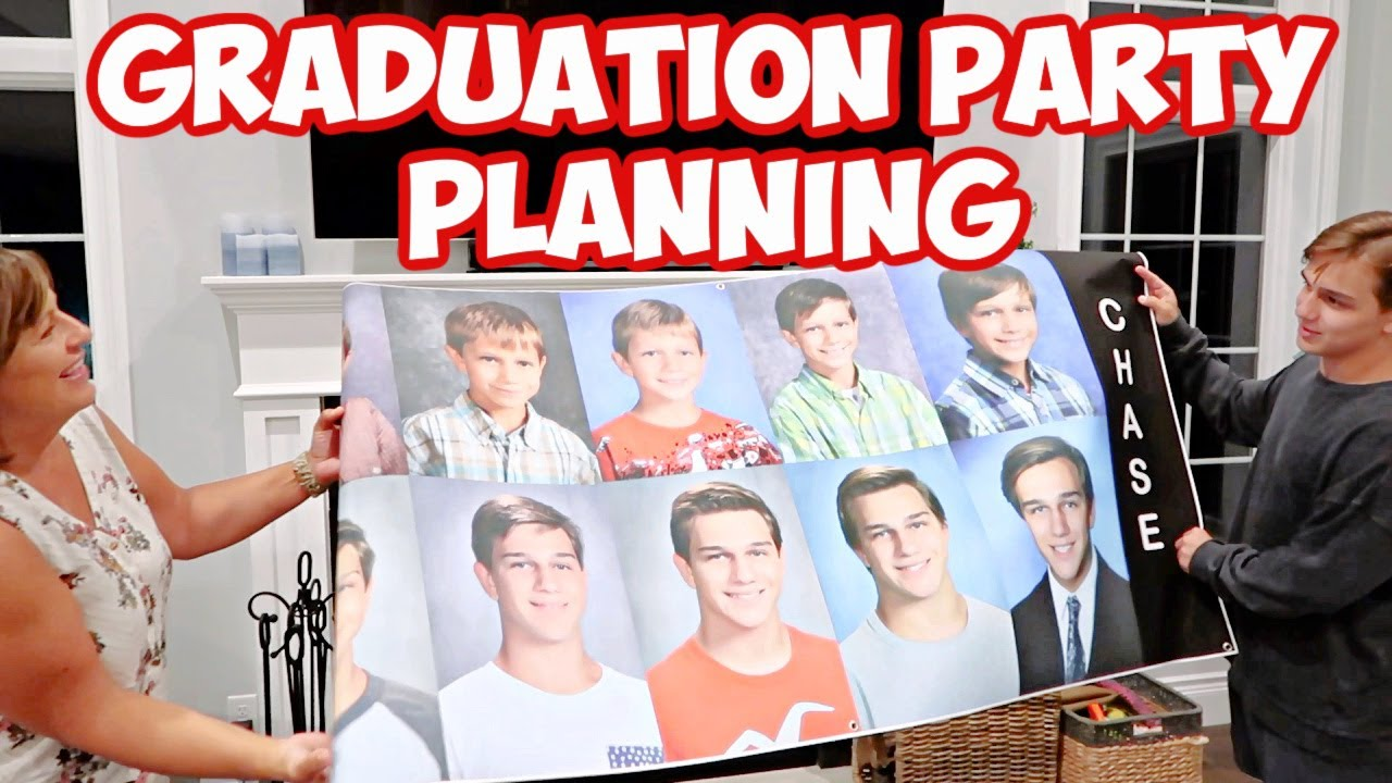 PLANNING & SHOPPING FOR HIGH SCHOOL GRADUATION PARTY!