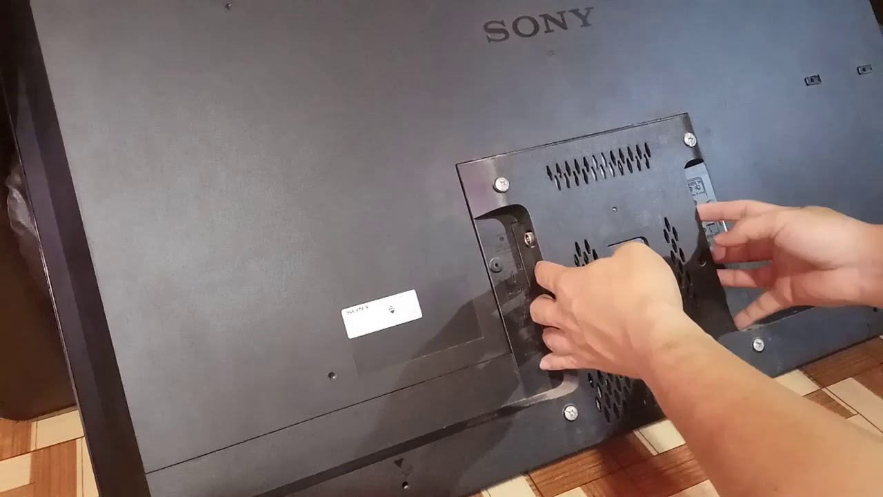 Repair Sony LED TV yourself  Sony LED TV restart problem and resolution
