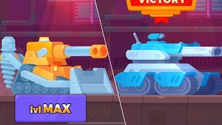 Tank Stars - Gameplay Walkthrough part 35 - Tournaments Legendary Mountain & Spactre (iOS,Android)