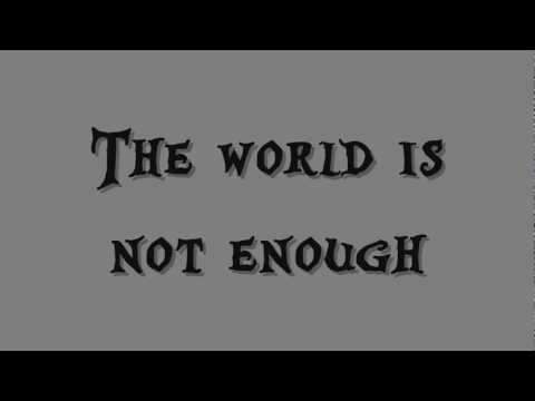 Garbage - The World Is Not Enough Lyrics