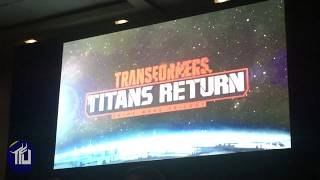 Titans Return - Trailer - Hascon reveal