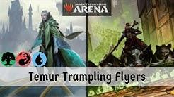 TRAMPLING FLYERS!! Skatewing Spy + Rhythm Of The Wild | Temur Trampling Flyers | MTG Arena