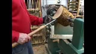Lyle on Rough Turning a Bowl