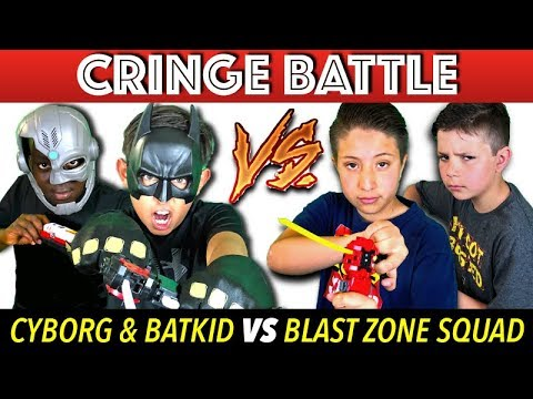 Beyblade Cringe Battle! Funny Beyblades Super Hero Challenge!