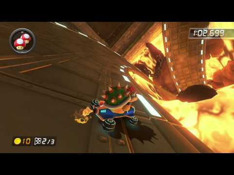 Bowser's Castle - 1:59.037 - Fλ★Kyserz (Mario Kart 8 World Record)