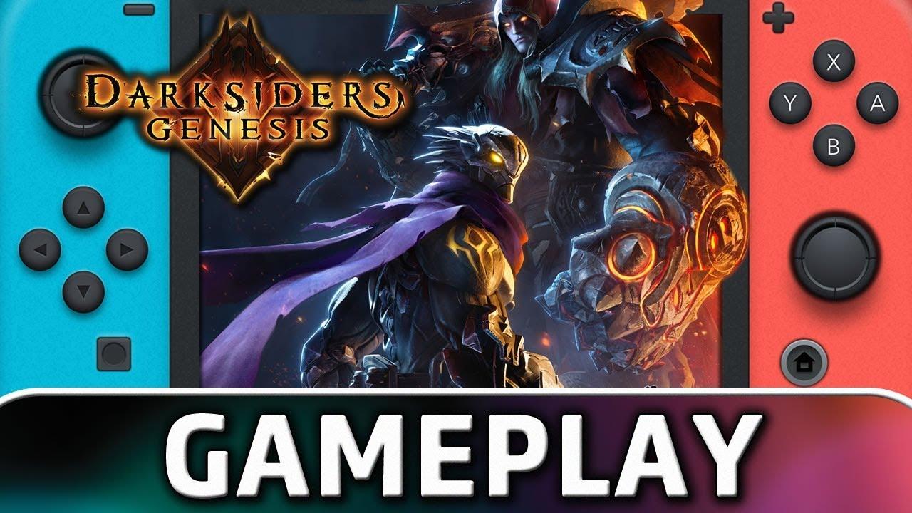 Darksiders Genesis | First 25 Minutes on Nintendo Switch