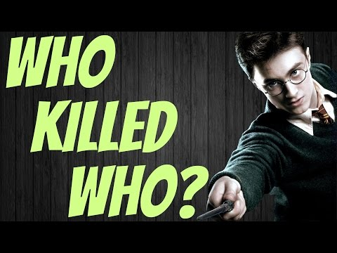 Who Killed Who In Harry Potter? Harry Potter Quiz