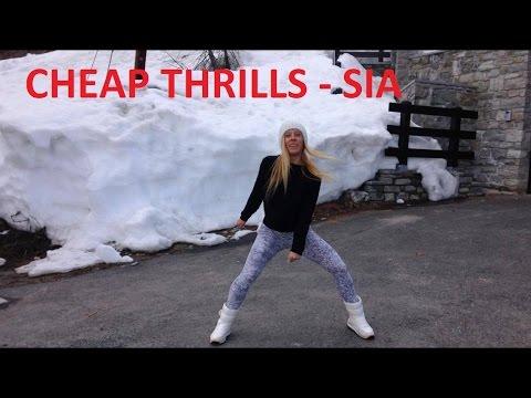 Cheap thrills SIA ft Sean Paul ZUMBA by KRISTINA...