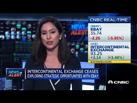 Intercontinental Exchange Ceases Exploring Strategic Opportunities With EBay