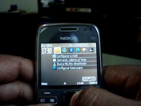 Eduardo Moreira - Review - Nokia E72 - Parte 03 (O Aparelho em Funcionamento)