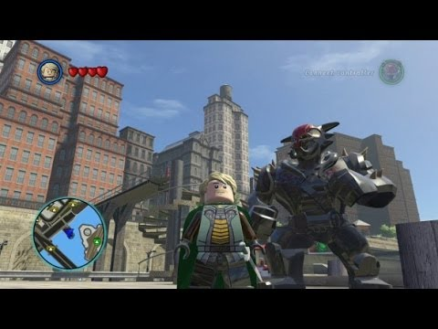 LEGO Marvel Super Heroes - Fandral Free Roam Gameplay (Asgard DLC Pack