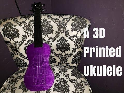 Building A 3D Printed Ukulele