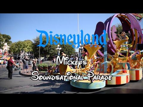 Mickey's Soundsational Parade [Disneyland] [4K] - YouTube