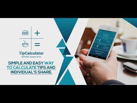 tip calculator free split tip bill and expenses apps on google play
