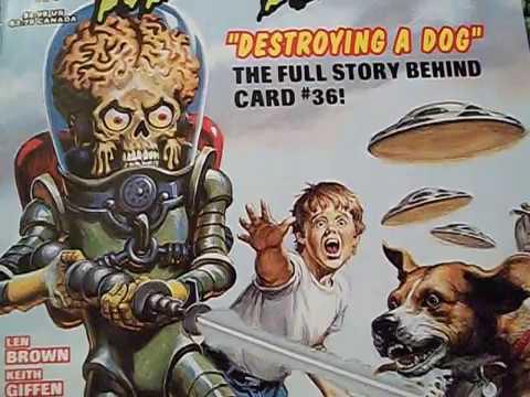 Mars Attacks: Destroying A Dog! Topps Comics #2 (miniseries)