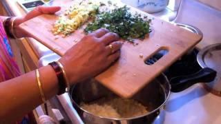How To Make Mangodi (mung Dal Pakoda)