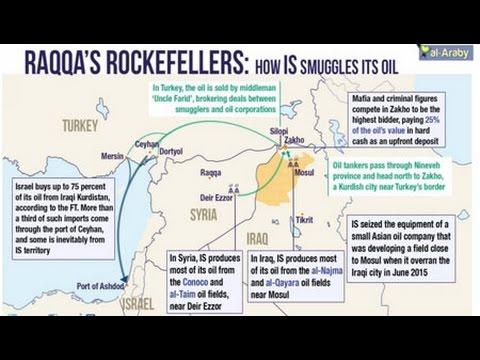 Israel Key Link in Exporting ISIS Oil
