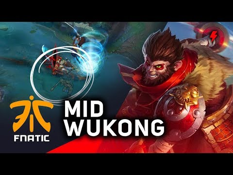 How Fnatic shut down Misfits' 9-0 streak | MID WUKONG