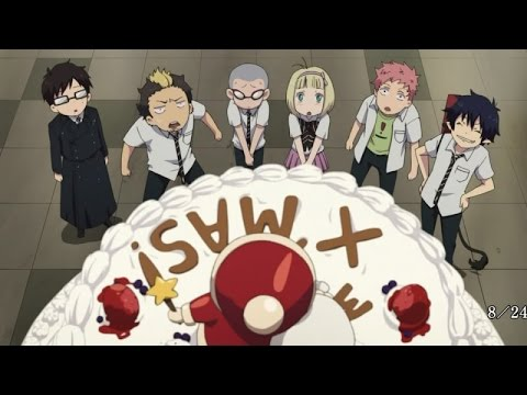 My top 5 funny moments in Blue Exorcist YouTube