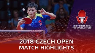 Zheng Peifeng vs Marcos Freitas | 2018 Czech Open Highlights (Final)