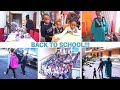 Back to school | First day of school | Very fun and interesting back to school family vlog