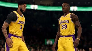Lakers Vs Celtics | NBA LIVE 20 Rosters: EPIC Gameplay