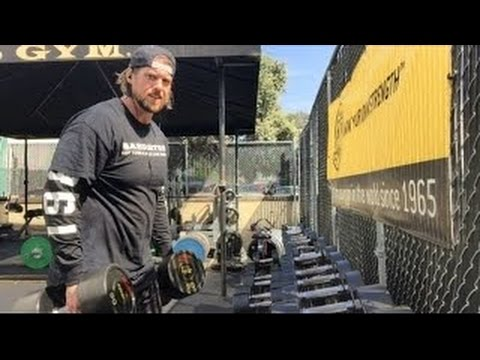 L.A. Beast VLOG #28 (How I LIFT at Gold's Gym | Venice Beach, California)