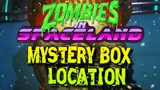 first mystery box spawn location zombies in spaceland
