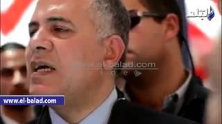 بالفيديو والصور.. محمد عبدالعاطي يفتتح المعرض النموذجي للري الحديث في الوادي الجديد
